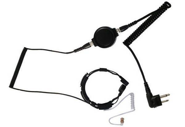 KEP-33-M1 - Security-Headset mit Kehlkopfmikrofon