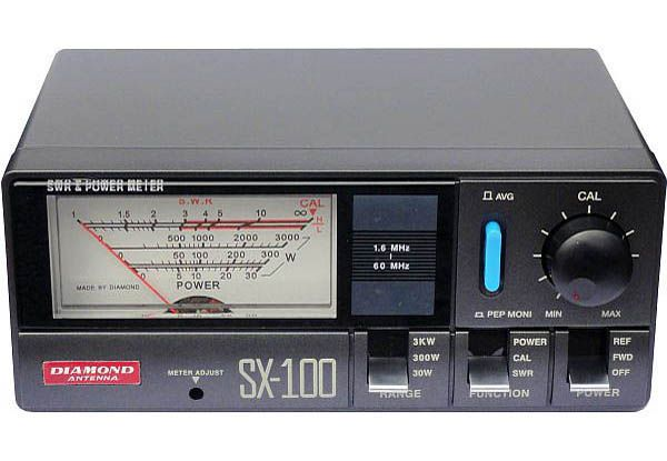 Diamond SX-100 - 1,6-60 MHz 3 kW
