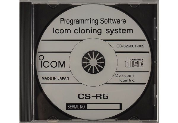 Icom CS-R6 PC-Programmiersoftware - IC-R6