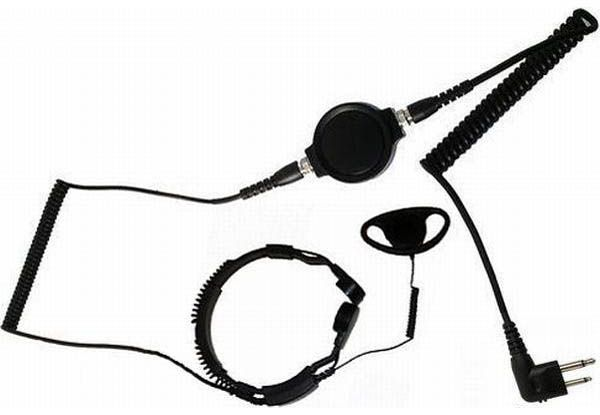 KKS-34-M1 - Security-Headset mit Kehlkopfmikrofon