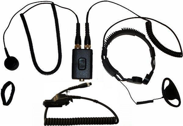 AE-38-GP900 - Security-Headset mit Kehlkopfmikrofon