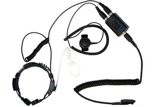 KEP-23-GP320 - Security-Headset mit Kehlkopfmikrofon