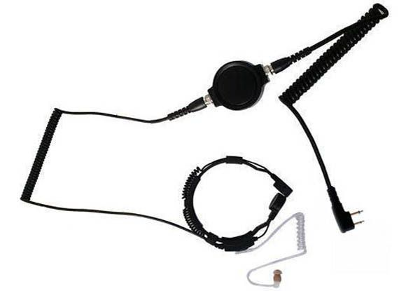 KEP-33-L - Security-Headset mit Kehlkopfmikrofon