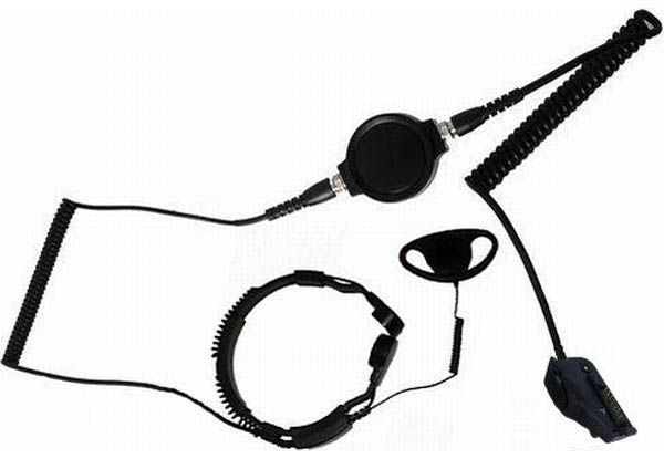 KKS-34-TK290 - Security-Headset mit Kehlkopfmikrofon