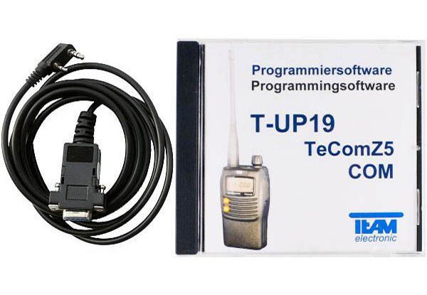 Team T-UP19 - Programmierset - TeCom-Z5 VHF/UHF/PMR/Freenet