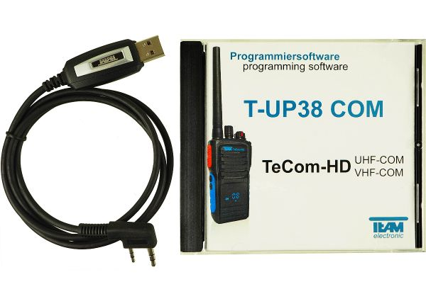 Team T-UP38-PMR USB - Programmierset - TeCom-HD PMR + Freenet