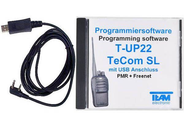 Team T-UP22-FN USB - Programmierset - TeCom-SL PMR + Freenet