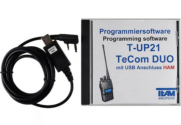 Team T-UP21-H USB - Programmierset - TeCom-Duo-H (Amateurfunk)