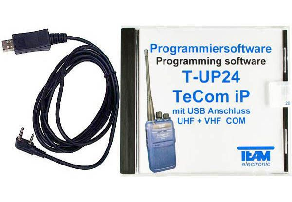 Team T-UP24-COM USB - Programmierset - TeCom-IP VHF + UHF