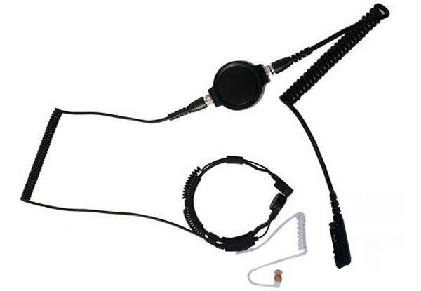 KEP-33-DP24 - Security-Headset mit Kehlkopfmikrofon