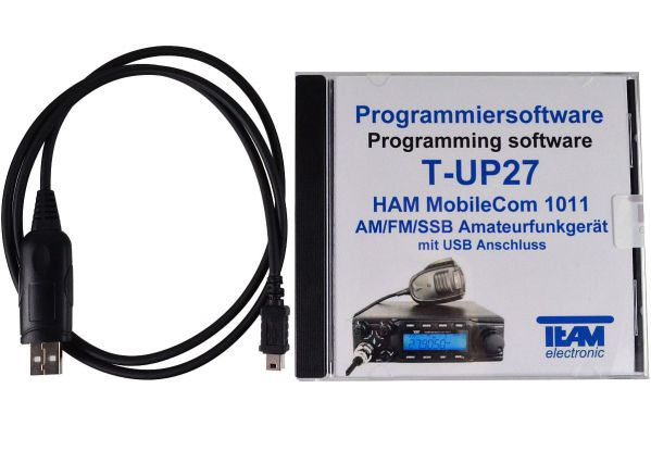 Team T-UP27 USB - Programmierset - HAM MobileCom 1011