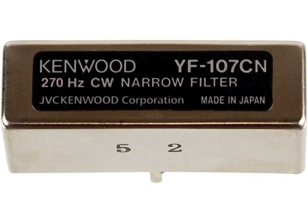Kenwood YF-107CN (Collins-Filter CW 270 Hz)