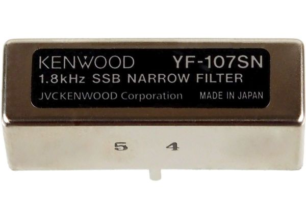 Kenwood YF-107SN (Collins-Filter SSB 1,8 kHz)