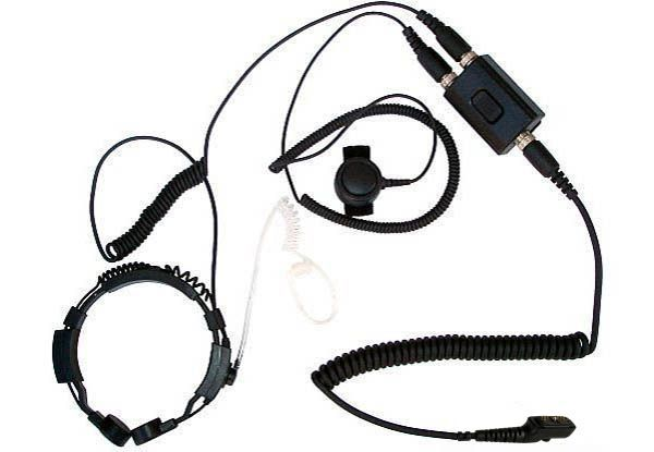 KEP-23-PD785 - Security-Headset mit Kehlkopfmikrofon