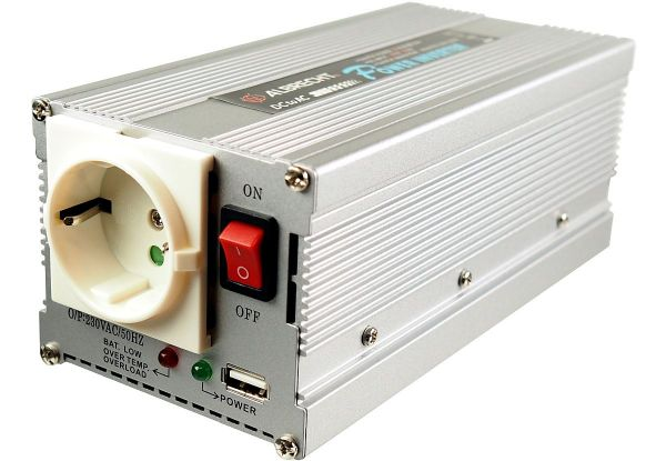 Inverter INV 300-12/24-USB 12/24V DC / 220V 50Hz