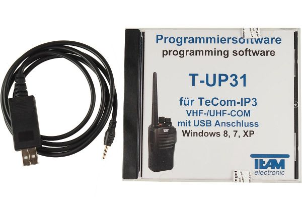 Team T-UP31-COM USB - Programmierset - TeCom-IP3 UHF/VHF
