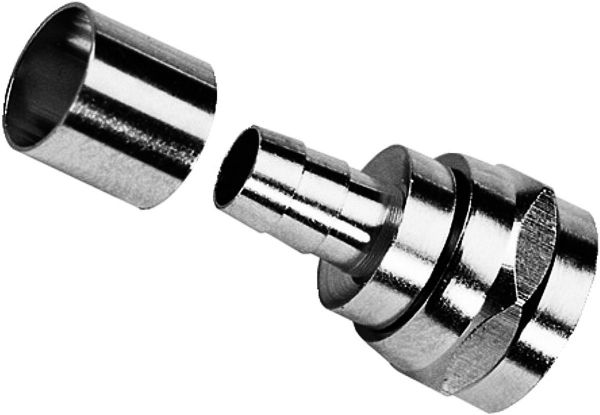 F-Stecker 8,2mm Crimp