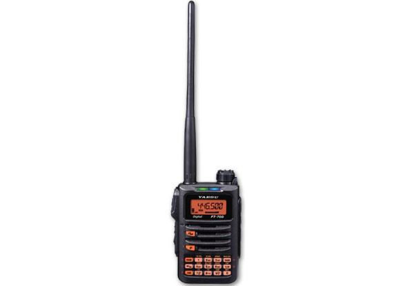 Yaesu FT-70DE - C4FM 2m/70cm Amateurfunk Handy + Lader + Akku