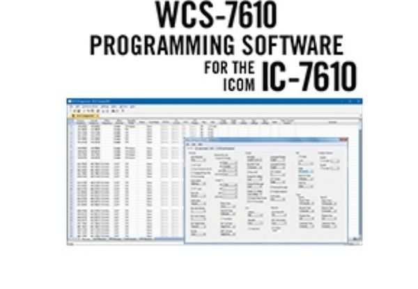 WCS-7610 Programmiersoftware - Icom IC-7610