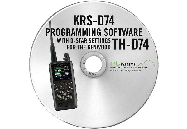 KRS-D74 Programmiersoftware - Kenwood TH-D74