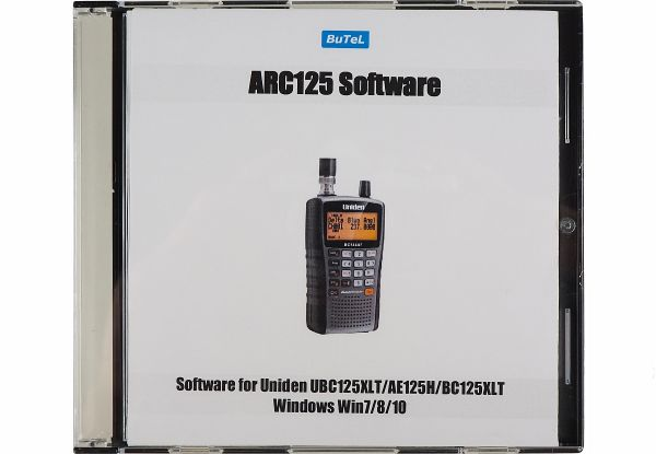 Butel ARC-125 Software - UBC 125 XLT + AE 125H