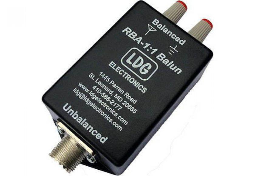 LDG RBA 1:1 Balun für KW-Langdrahtantenne 1,8-30 MHz 200 Watt