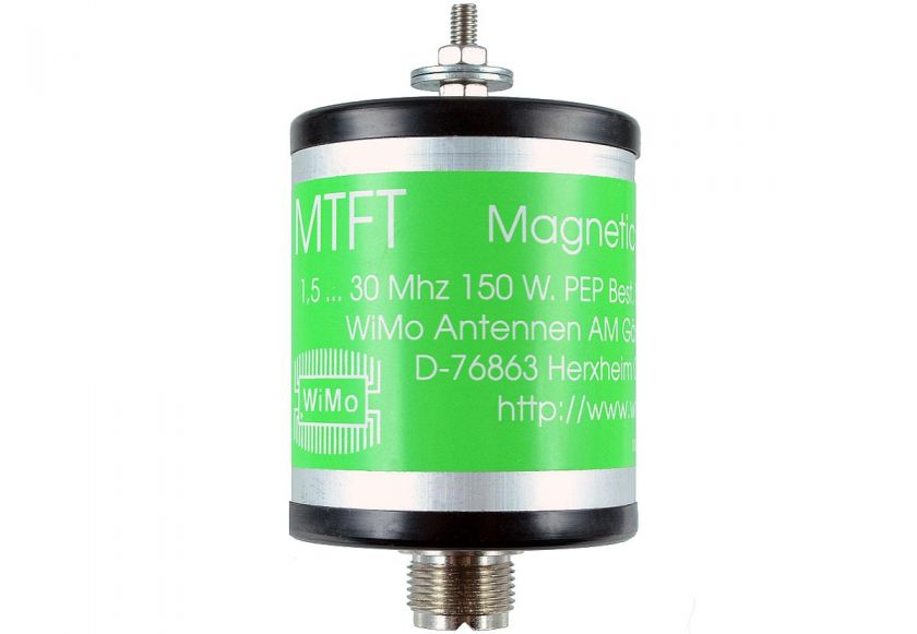 MTFT Balun 1:10 für Kurzwellen-Langdrahtantenne 0,1-50 MHz 100 Watt