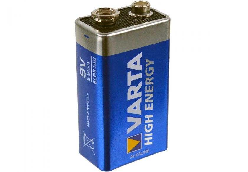 varta high energy 9 volt block batterie alkaline. Black Bedroom Furniture Sets. Home Design Ideas