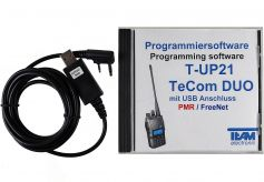 Team T-UP21-C USB - Programmierset - TeCom-Duo-C (PMR/Freenet)