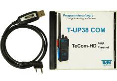 Team T-UP38-COM USB - Programmierset - TeCom-HD VHF + UHF