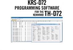 KRS-D72 Programmiersoftware - Kenwood TH-D72