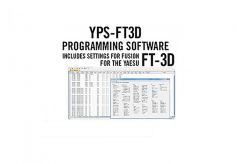 YPS-FT3D Programmiersoftware - FT-3DE + FT-3DR