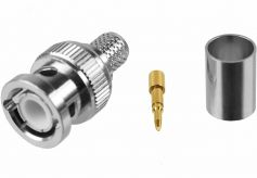 BNC-Stecker 7mm Crimp