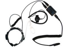 KEP-23-T320 - Security-Headset mit Kehlkopfmikrofon