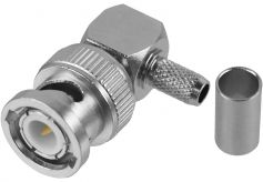 BNC-Winkelstecker (Crimp-Version...